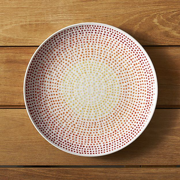 Marvelous Create A Look Thatu0027s All Your Own With Dinner Plates From Crate And Barrel.  Browse A Variety Of Shapes Including Square, Oval, Rectangular And Round  Plates