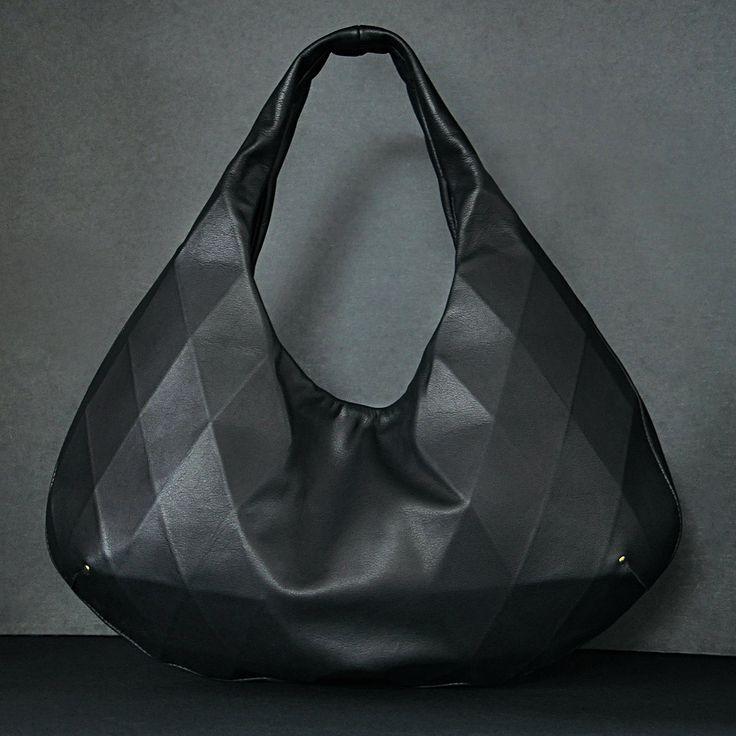 diamond hobo: Fashionista Handbags, Designer Handbags, Dani Elle, Diamond Hobo, Fashion Designers, Leather Bags, Leather Design, Hobo Bags
