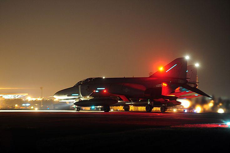 F-4E Phantom in the dark