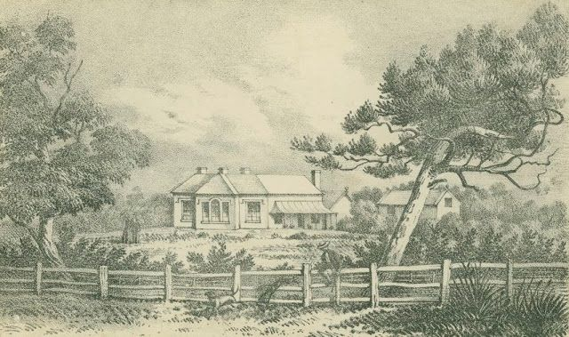 BALIYANG, NEAR GEELONG, The Residence of Foster Fyans, Esq. J.P. c. 1851