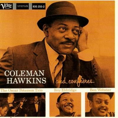 vintage jazz album cover, Coleman Hawkins