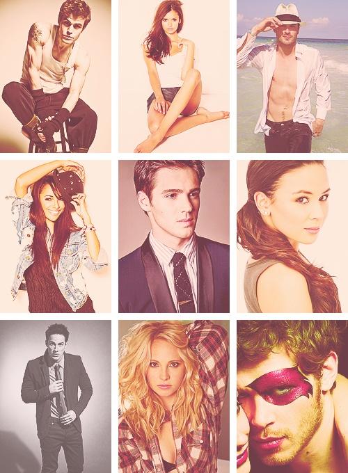 cast of vampire diaries - part one.