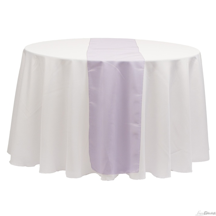 Buy 14 x 108 inch purple organza table runner for your for 108 inch table runners