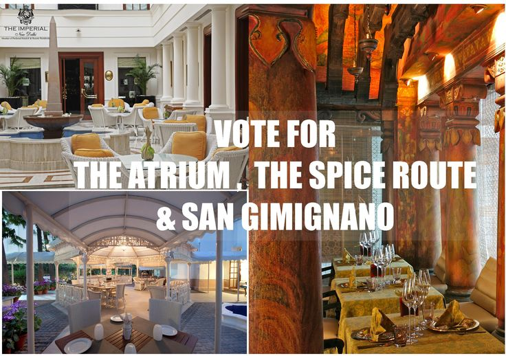 Vote at http://timescity.com/delhi/timesfoodawards … or give a missed call to make your favourite restaurant at #TheImperial win