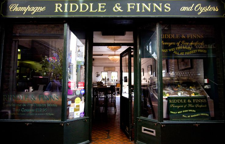Riddle & Finns, Champagne and Oyster bar, Brighton
