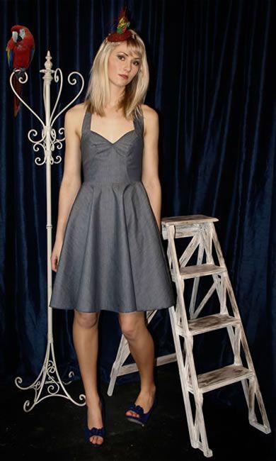 Birdie Dress - Denim
