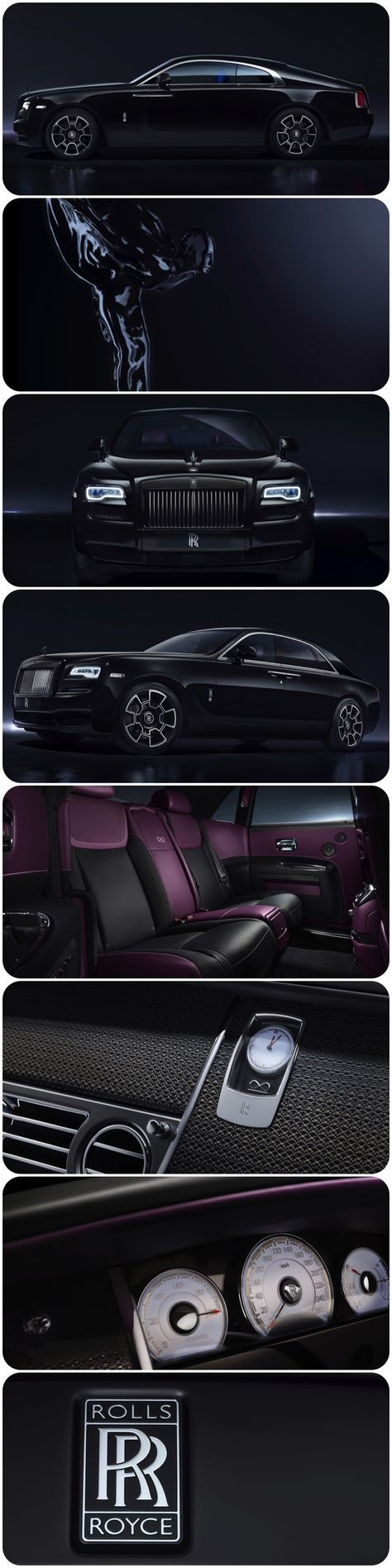 Black Badge - A New Rolls-Royce for the elusive, defiant people with attitude, the risk takers and disruptors who break the rules and laugh in the face of convention. Rolls-Royce Motor Cars #luxury #luxurybrands #blackbadge