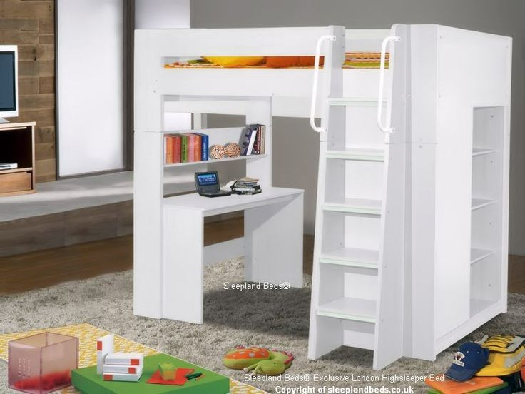 London White High Sleeper Bed