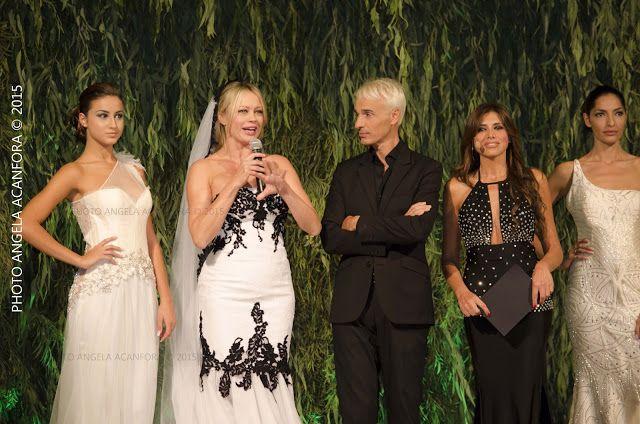 "On Magazine #AngelaAcanfora: ANNA FALCHI IN ABITO DA SPOSA DICHIARA ""AMO I MATR..."