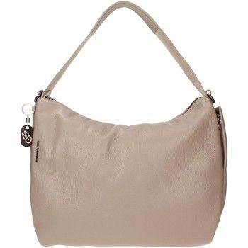 Schoudertassen met riem Mandarina Duck 162FZT62 Shoulder Bag Women Leather Beige 162.00 €