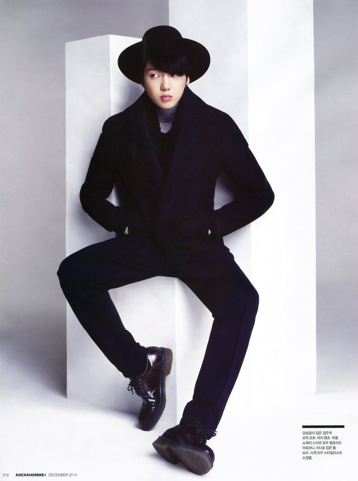 Seungyoon - ARENA HOMME Magazine Dec. Issue