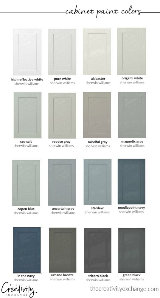 Best 30 Beautiful Cabinet Paint Colors For Kitchens And Baths 400 x 300