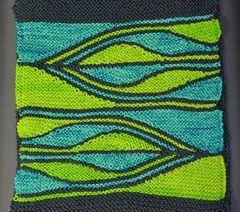 Swing-Knitting Workshop 8 – Tirnanog pattern by Heidrun Liegmann
