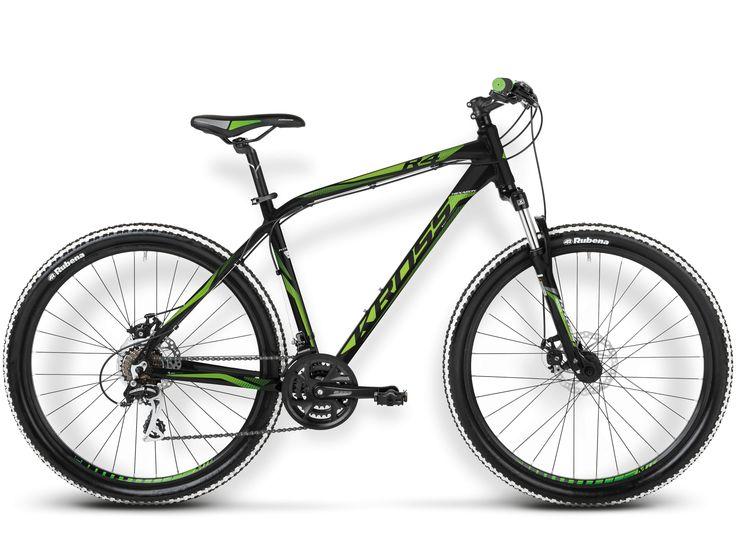 Rower Kross HEXAGON R4 czarno-zielony 2015