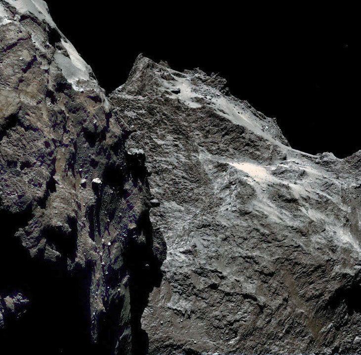 Comet 67P-C/G taken by Rosetta spacecraft