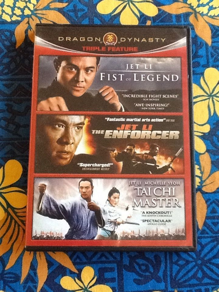 Fist of Legend The Enforcer Tai Chi Master DVD 2011 3 Disc Set 883476059990 | eBay