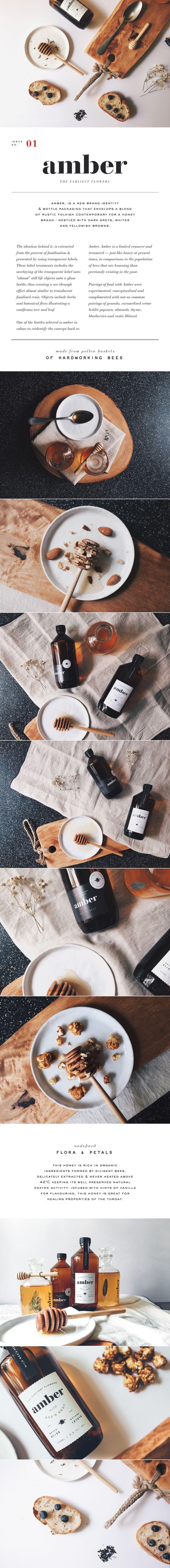 Amber design & branding packaging.