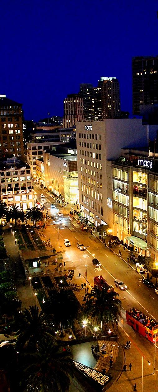 Westin hotel - Union Square - San Francisco