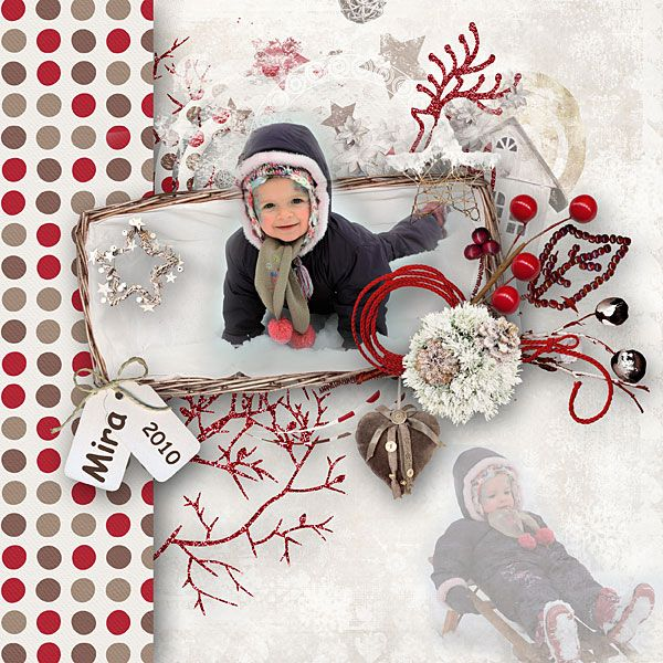 Season of Winter's Joy is here!    Digital Art :: Bundled Deals :: Winters Frost Bundled Collection by Lara's Digi World