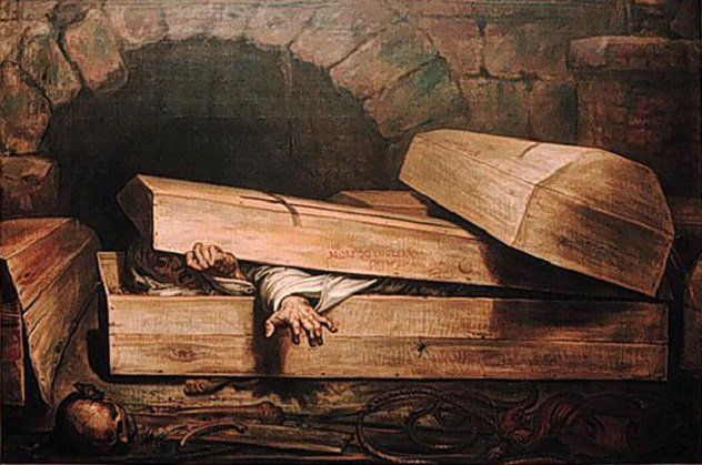 10 Horrifying Premature Burials^10 Horrifying Premature Burials^Being buried prematurely is one of the most terrifying of all fears. Edgar Allan Poe wrote about it and it has been the subject matter of many horror movies. Surprisingly real life cases of this terrible mistake are more common than one might think. Years ago when embalming wasn't as common and because of inferior medical equipment to detect life there are numerous cases where people have had the terrifying experience of…