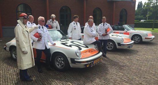 De roemruchte geschiedenis van de politie-Porsche's