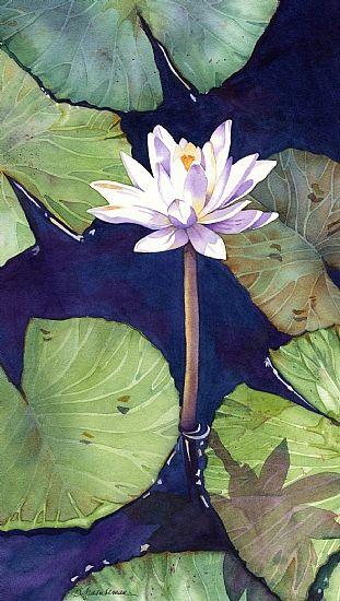 Barbara Groenteman, Serene Diva, Watercolor