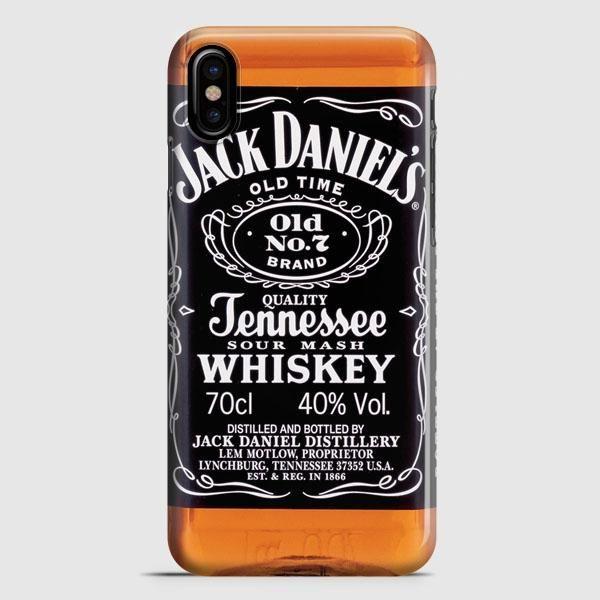 Jack Daniels Black Label iPhone X Case