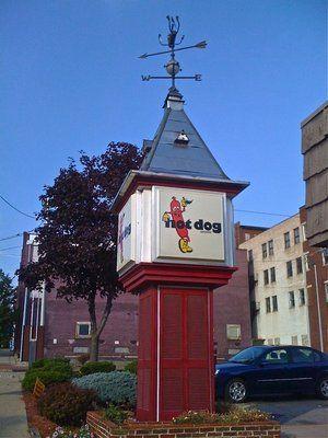 The original Hot Dog Shoppe, East Liverpool, Ohio