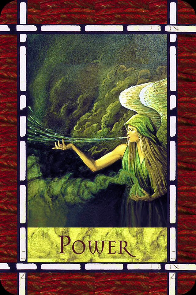 Power From The Healing With The Angels Oracle Card Deck
