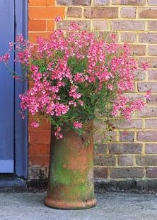 chimney pot- this is so pretty. And as other pinners commented, it would make a neat base for a homemade birdbath.