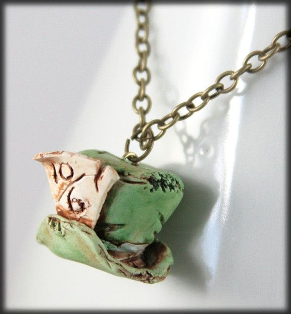 RESERVED Where has the Hatter Gone Charm  by NeverlandJewelry, $19.00