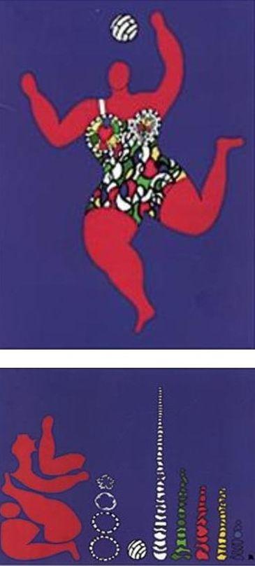 "Ursus Wehrli, Tidying Up Art. Niki de Saint Phalle ""Volleyball"" http://www.froelichundkaufmann.de/Kulturgeschichte/Ursus-Wehrli-Kunst-aufraeumen.html"