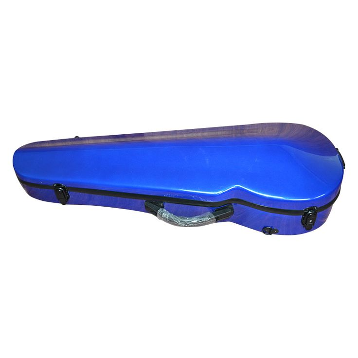 High grade blue glass fiber Viola Case can adjust 14-17 inches Viola Case
