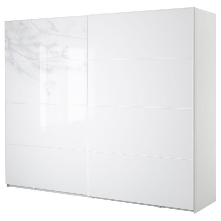 PAX Garderobekast met schuifdeuren - 300x66x236 cm - IKEA