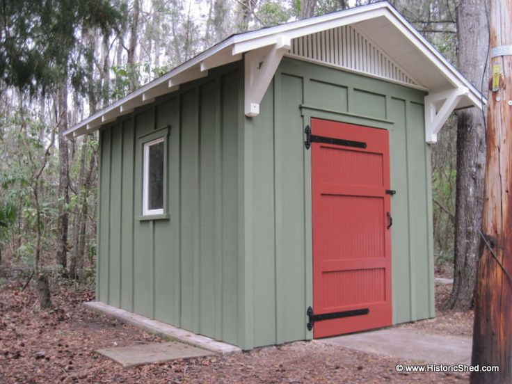 8 X10 Gable Shed With Board And Batten Exterior Shed