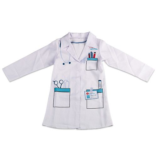 Disfraz de médico para niños Doctor Suit