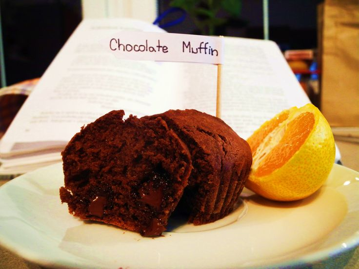 Chocolate Muffins- soft muffins with pieces of chocolate