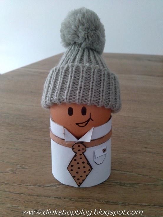 Paas ontbijt eierdopje http://dinkshopblog.blogspot.nl/