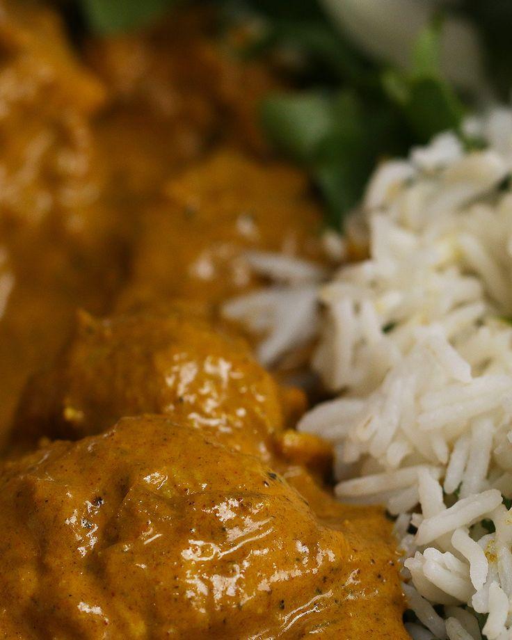 Lighter Chicken Korma
