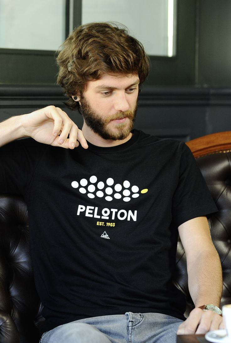"""CYCLAR® Cycling wear T-Shirt """"PELOTON"""" 100% Organic clothing"""
