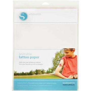 Papel para Impressão de Tatuagem Temporária - 02 unidades - Silhouette Brasil