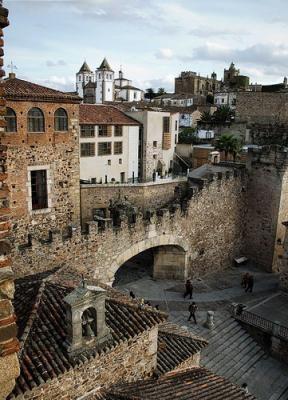Ciudad antigua de Caceres
