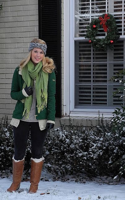 Winter Outfits - Greensleeves