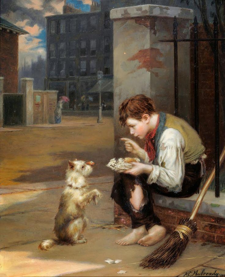 Augustus Edwin Mulready  - Page 2 8d734f6509eb1442b8c11cf656601380--art-market-master-art