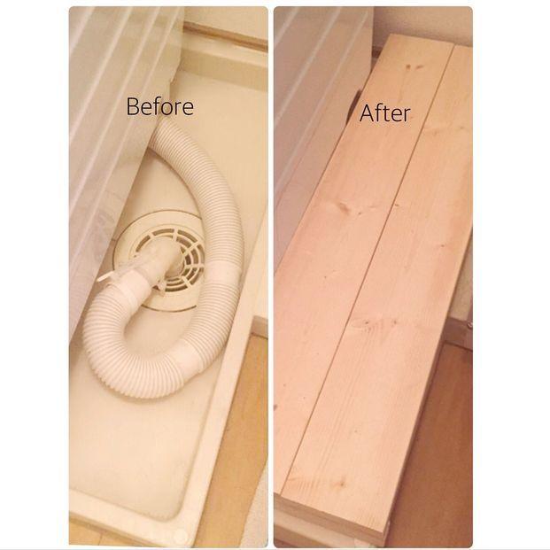 """冷蔵庫の横、洗濯機の脇、コンロの隙間…家具と家具の間に出来た""""ちょっとした隙間""""を収納スペースに!DIYが得意な方も苦手な方も実践できる、便利な収納家具と、隙間を埋めるDIY術を集めてみました。"""