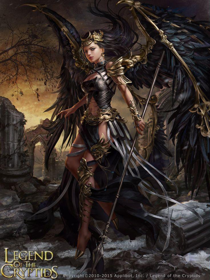 Legend of the Cryptids - Zesperia A, Laura Sava on ArtStation at https://www.artstation.com/artwork/legend-of-the-cryptids-zesperia-a