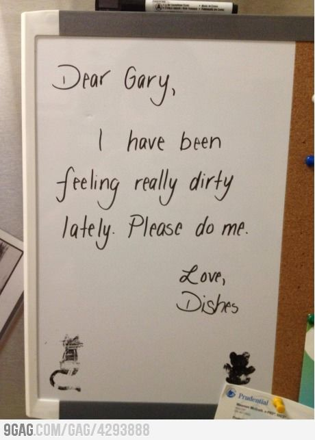 Haha!!! Yes, I will be leaving a note like this for my husband!