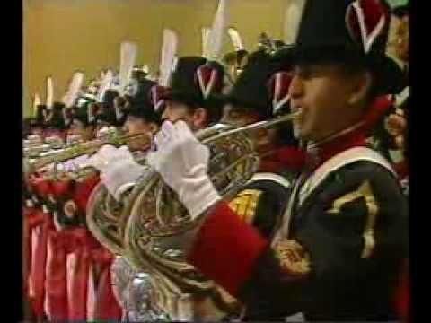 Himno Nacional Argentino ejecutado por la Banda de Regimiento de Patricios…