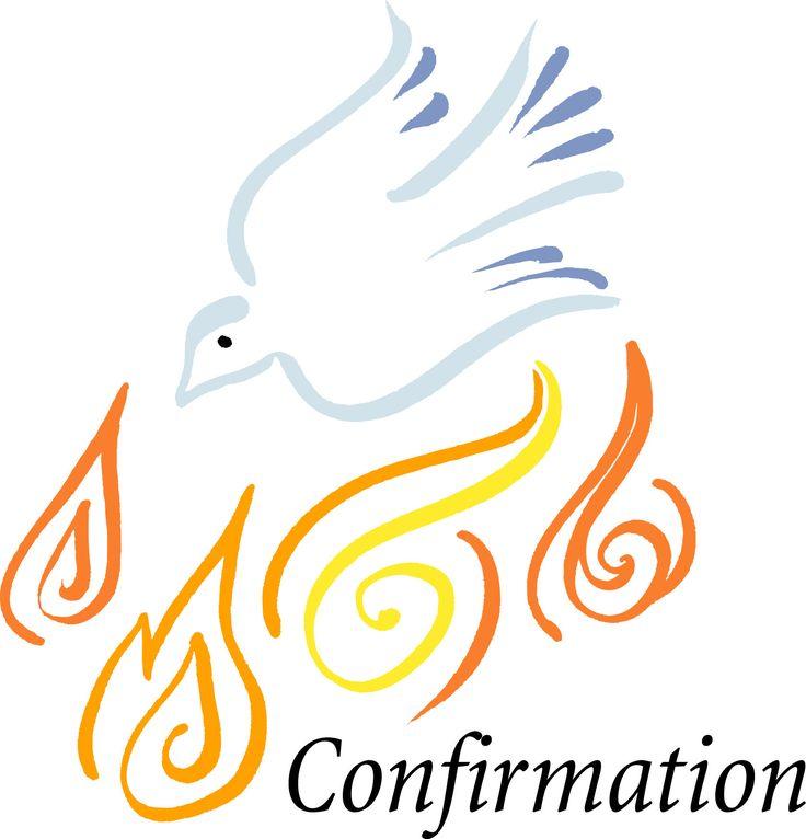 catholic confirmation symbols clipart free clip art