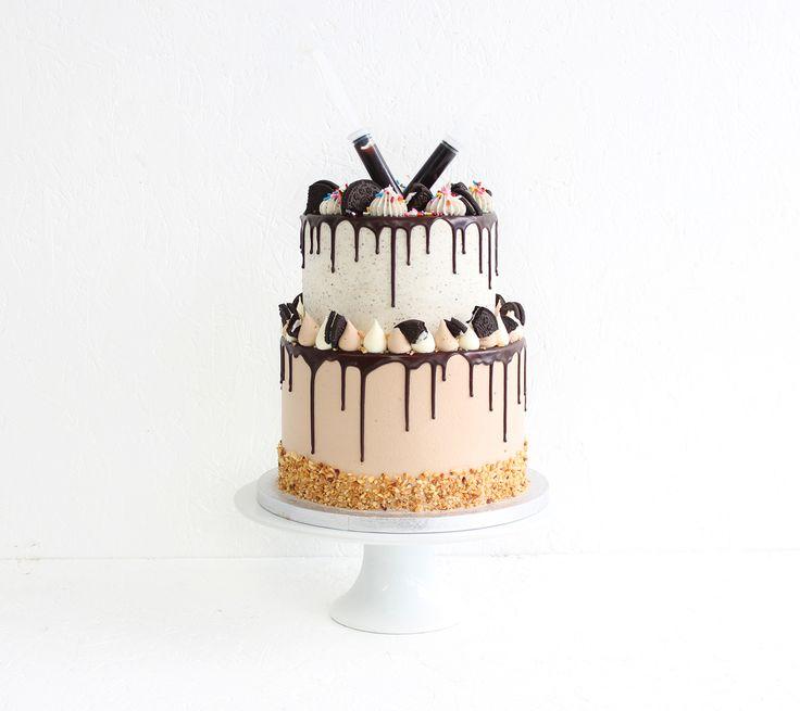 25+ Best Ideas About Oreo Birthday Cakes On Pinterest
